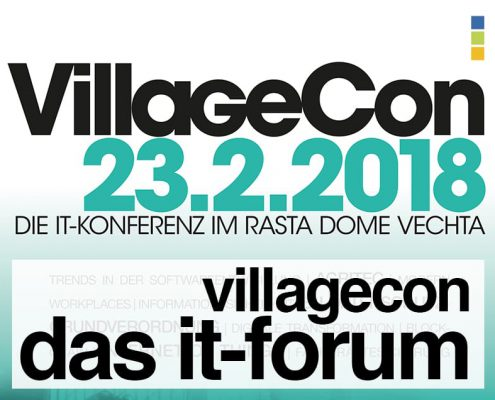 VillageCon, das IT-Forum im Rasta Dome in Vechta